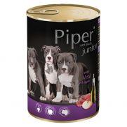 Piper animals, alimento para cachorros de venado y manzana