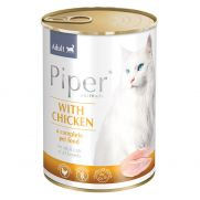 Piper animals, comida húmeda para gatos con pollo