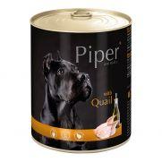 Piper animals, comida húmeda para perros con codorniz