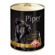 Piper animals comida húmeda para perros con corazón de pollo