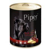 Piper animals, comida húmeda para perros con hígado de ternera y papas