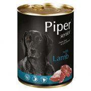 Piper animals, comida húmeda para perros senior con cordero