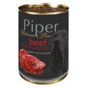 Piper platinum pure, comida con ternera y arroz para perros