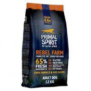 Primal Spirit Rebel Farm, pienso para perro adulto, 65% carnes fresca