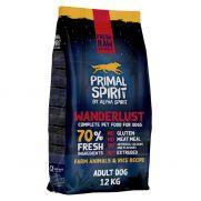 Primal Spirit Wanderlust, pienso para perro adulto, 70% de carne fresca