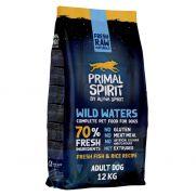 Primal Spirit Wild Waters, alimento para perro adulto, 70% carnes de frescas