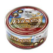 Princess tracto urinario para gato, con pollo, atún, arroz y vieira