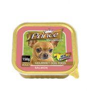 Prince paté con 5% de salmón, para perros adultos pequeños