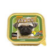 Prince paté con 5% de cordero para cachorros