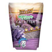 Princess arena para gatos ecológica biodegradable lavanda, dura 40 días