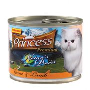 Princess natures power con ganso y cordero para gatos de todas las edades