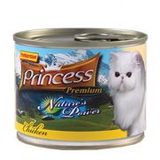 Princess natures power alimento húmedo para gatos con 69% de pollo