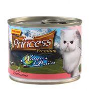 Princess nature's power paté con (69%) salmón, para gatos de todas las edades