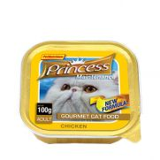 Princess paté de pollo, comida húmeda para gatos adultos