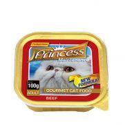 Princess paté de ternera, comida húmeda para gatos adultos
