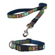 Rogz armed response pack de collar y correa para perros