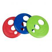 Rogz frisbee juguete para perros, disco volador suave