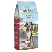Triple crown lovely puppy big, pienso con 10% pollo fresco, 8% ave y 6% cordero
