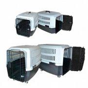 Wuapu transportín para perros, fabricado con plástico duro
