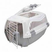 Wuapu transportín plus para perros, con plástico duro y rígido