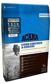 Acana cobb chicken greens para perros de todas las razas