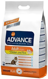 Advance cat adult pollo y arroz
