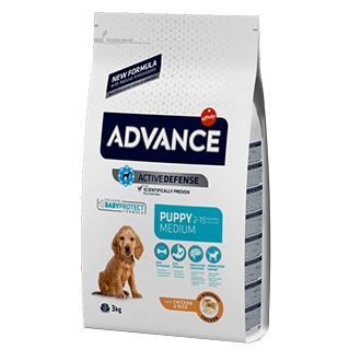Advance puppy medium pollo telepiensoscanarias