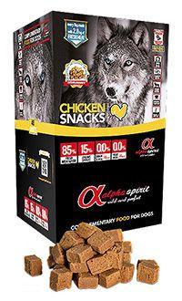 Alpha Spirit chicken snacks telepiensoscanarias