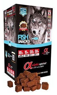 Alpha Spirit fish snacks telepiensoscanarias
