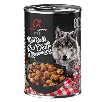 Alpha spirit albondigas perro venado romero telepiensoscanarias
