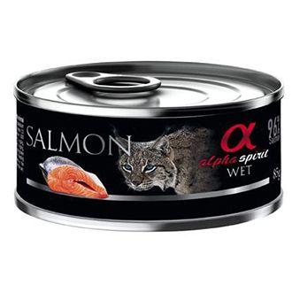 Alpha spirit gato lata salmon telepiensoscanarias