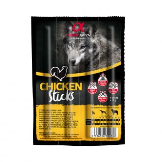 Alpha spirit perro sticks pollo telepiensoscanarias