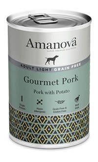 Amanova perro latas adulto light cerdo TelepiensosCanarias
