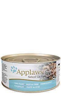 Applaws lata caldo gato filete atun Telepiensoscanarias
