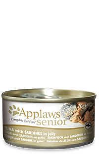 Applaws lata gelatina gato atun sardina Telepiensoscanarias