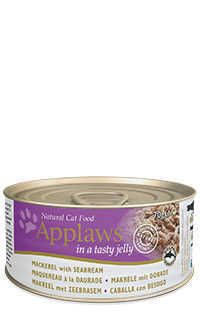 Applaws lata gelatina gato caballa besugo Telepiensoscanarias
