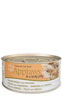 Applaws lata gelatina gato pollo caballa Telepiensoscanarias
