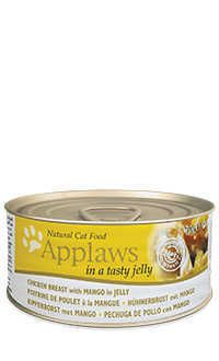 Applaws lata gelatina gato pollo mango Telepiensoscanarias