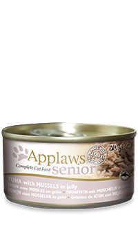 Applaws lata gelatina gato senior atun mejillones Telepiensoscanarias