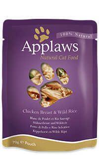 Applaws pouch caldo gato pollo arroz Telepiensoscanarias