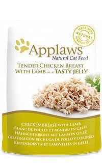 Applaws pouch gelatina gato pollo cordero Telepiensoscanarias