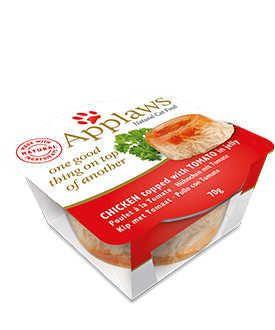 Applaws tasty capas gato pollo tomate Telepiensoscanarias