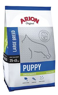 Arion Original puppy large breed chicken rice TelepiensosCanarias 22 5 2018 211342