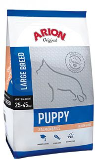 Arion Original puppy large breed salmon rice TelepiensosCanarias 22 5 2018 211745