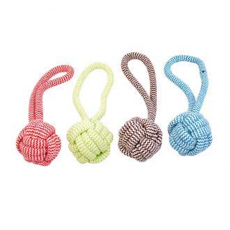 Duvo juguete perro scooby rope bummy ball Telepiensoscanarias