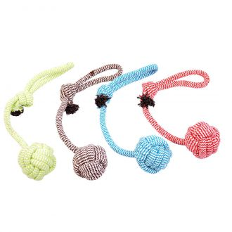Duvo juguete perro scooby rope dummy ball with loop Telepiensoscanarias