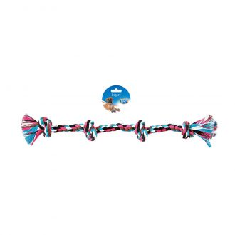 Duvo juguete perro tug knotted cotton four knots Telepiensoscanarias