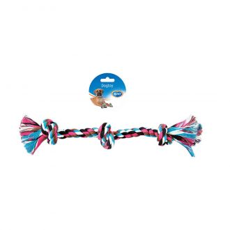 Duvo juguete perro tug knotted cotton three knots Telepiensoscanarias