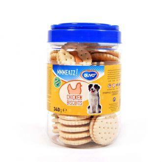 Duvo perro golosinas mmmeatz biscuits with chicken Telepiensoscanarias