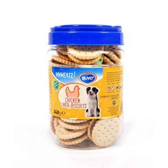 Duvo perro golosinas mmmeatz biscuits with chicken liver Telepiensoscanarias